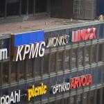 Kauppakeskus Forumin katolta 14.4.2011