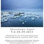 Luontokuvanäyttely Saaristomeren talvi 5.6-28.9.2013 esillä Espoon Järjestöjen Yhteisön Yhteisötuvalla