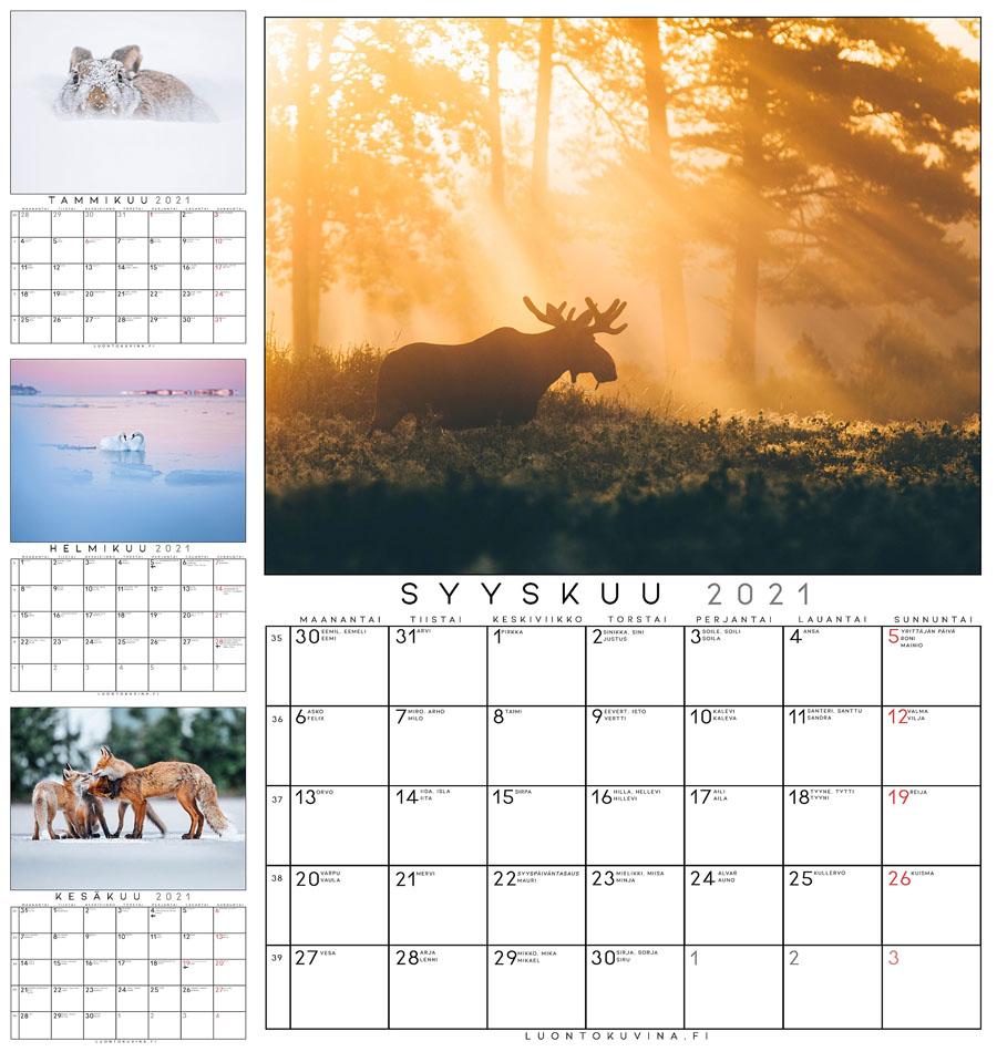 Kalenteri 2021 Pyhät